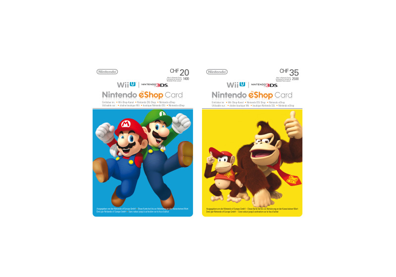 Gaming - Nintendo eShop Cards