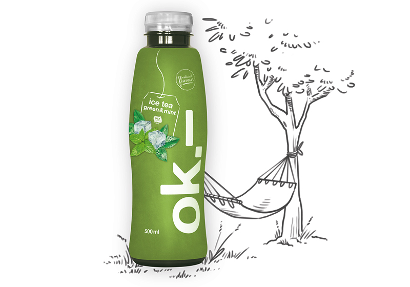 Green dream: ok.– ice tea green & mint