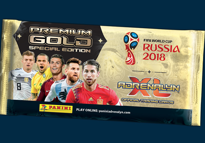 Tradingcards WM Russia 2018 ADRENALYN XL