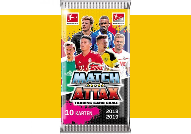 Tradingcards Match Attax Bundesliga 2018/2019