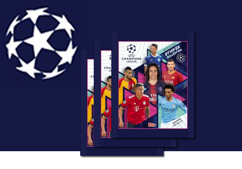 Sticker UEFA Champions League 2018-2019
