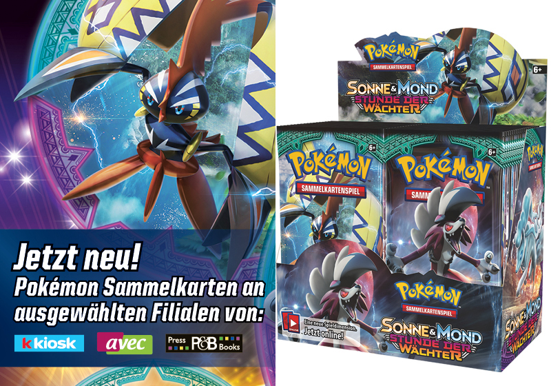 Tradingcards Pokémon Sun & Moon 2